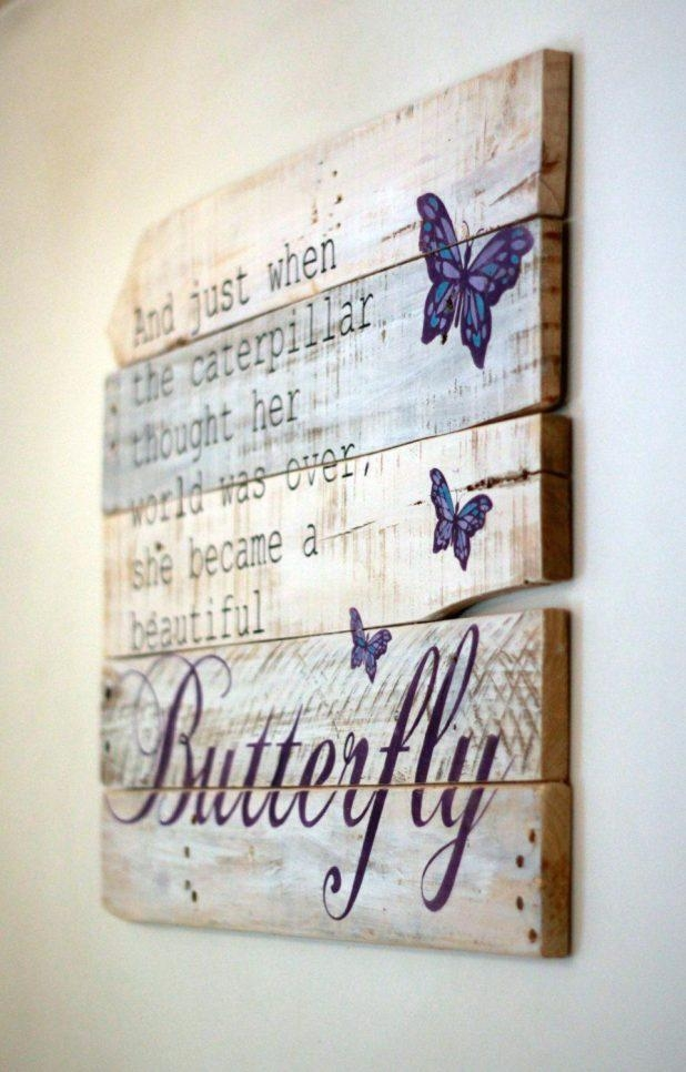 Wall Ideas: Wood Wall Art Quote. Diy Wood Wall Art Quotes (Image 18 of 20)