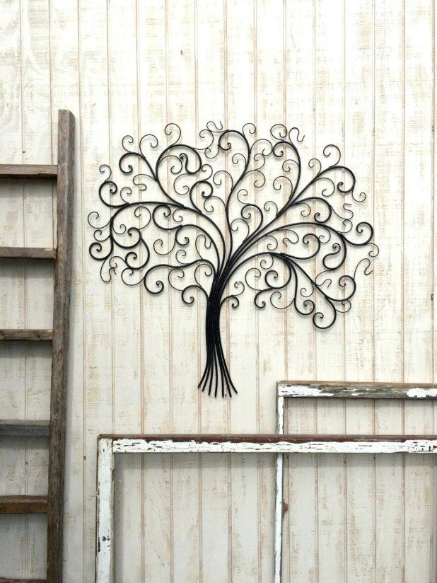 Wall Ideas : Wrought Iron Arch Wall Art Decor Panel Support Your Intended For Large Wrought Iron Wall Art (View 12 of 20)