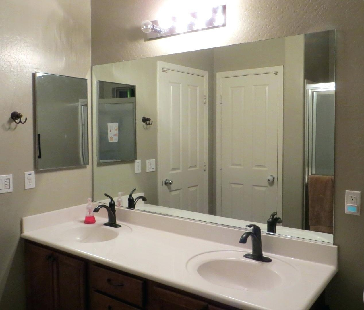 Wall Mirrors For Bathroom – Hondaherreros In Wall Mirrors For Bathrooms (Image 20 of 20)