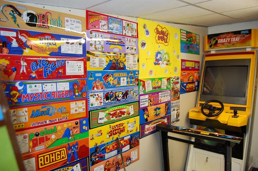 Wall Of Arcade Art / Plastering – Jamma+ Forums – Page 1 In Arcade Wall Art (View 6 of 20)