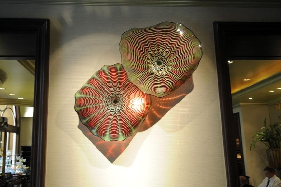 Wall Seashaped Gallery – Art Glass With Regard To Italian Glass Wall Art (Image 20 of 20)