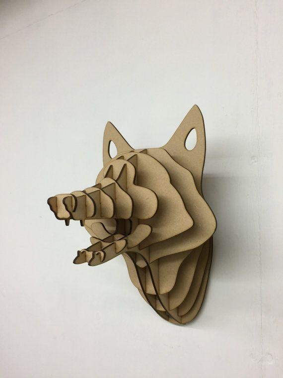 Wall Shelves Design: Animal Bust Wall Decor Design Inspiring 2017 Regarding Metal Animal Heads Wall Art (Image 19 of 20)