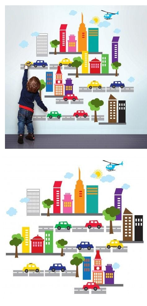 Wallcandy Arts French Bull City Wall Decals With Wallcandy Arts (View 10 of 20)