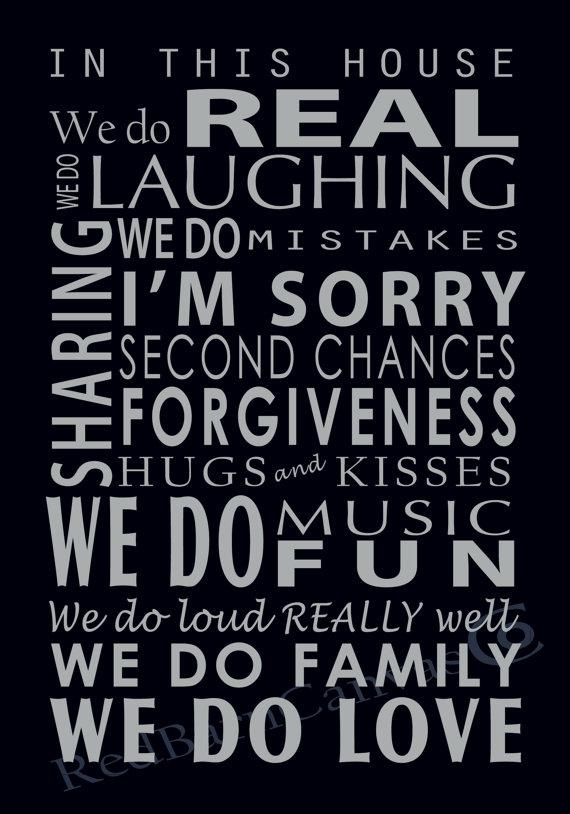 We Do Family Custom Canvas Word Art Canvas Family Rules With Family Rules Canvas Wall Art (View 18 of 20)