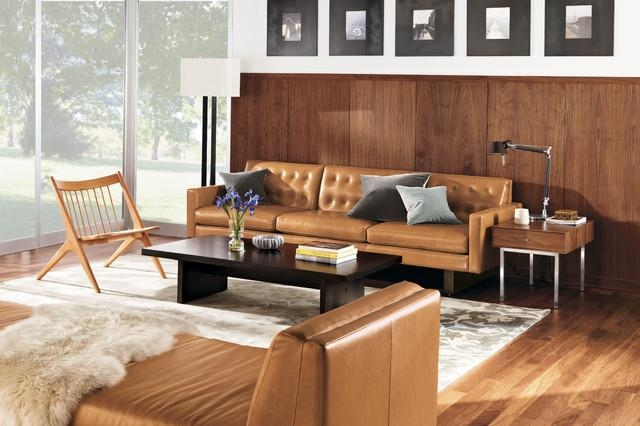 Wells Leather Sofa Roomr&b – Modern – Living Room For Room And Board Wells Sofas (View 1 of 20)