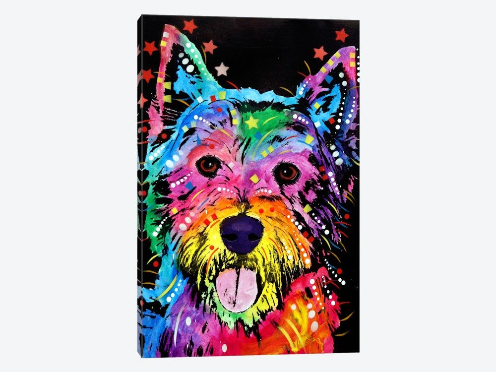 Westie Canvas Wall Artdean Russo | Icanvas Inside Westie Wall Art (Image 17 of 20)