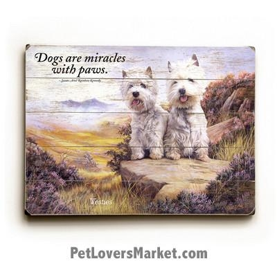 Westie Pictures, Westie Art, Westie Gifts For Sale Within Westie Wall Art (Image 18 of 20)
