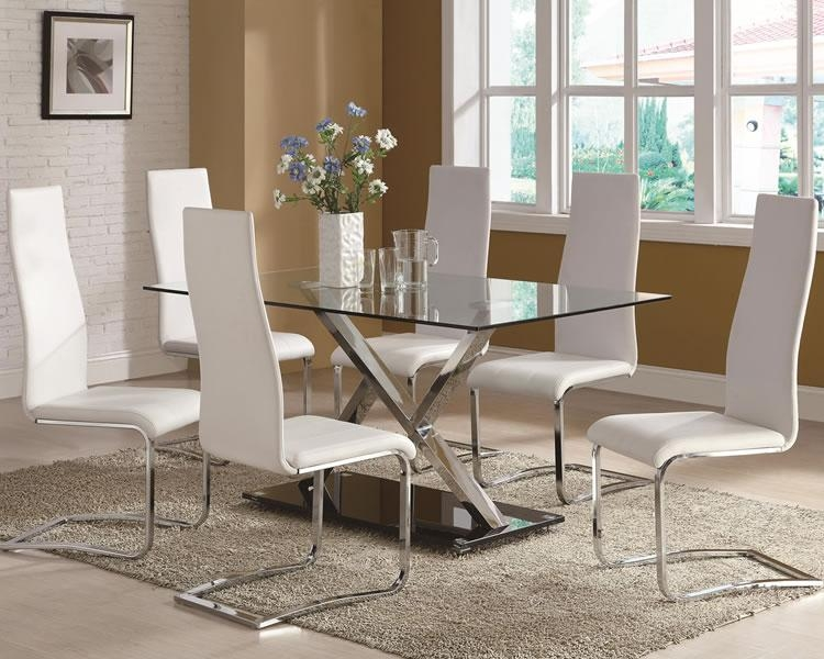 Featured Image of Dining Room Glass Tables Sets