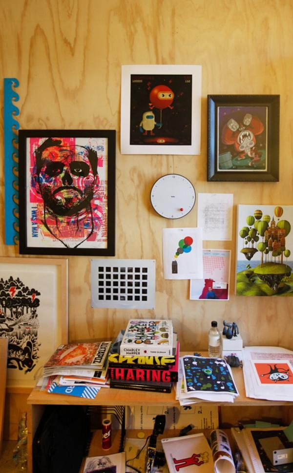 Where I Work: Blik Wall Decals Office Tour – Design Milk With Regard To Blik Wall Art (Image 20 of 20)