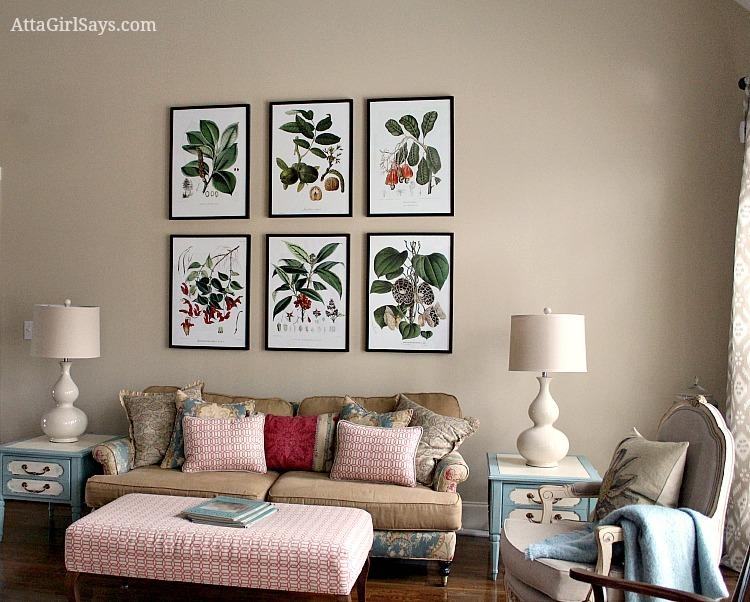 Where To Find Inexpensive Antique Botanical Prints Regarding Inexpensive Framed Wall Art (Image 20 of 20)