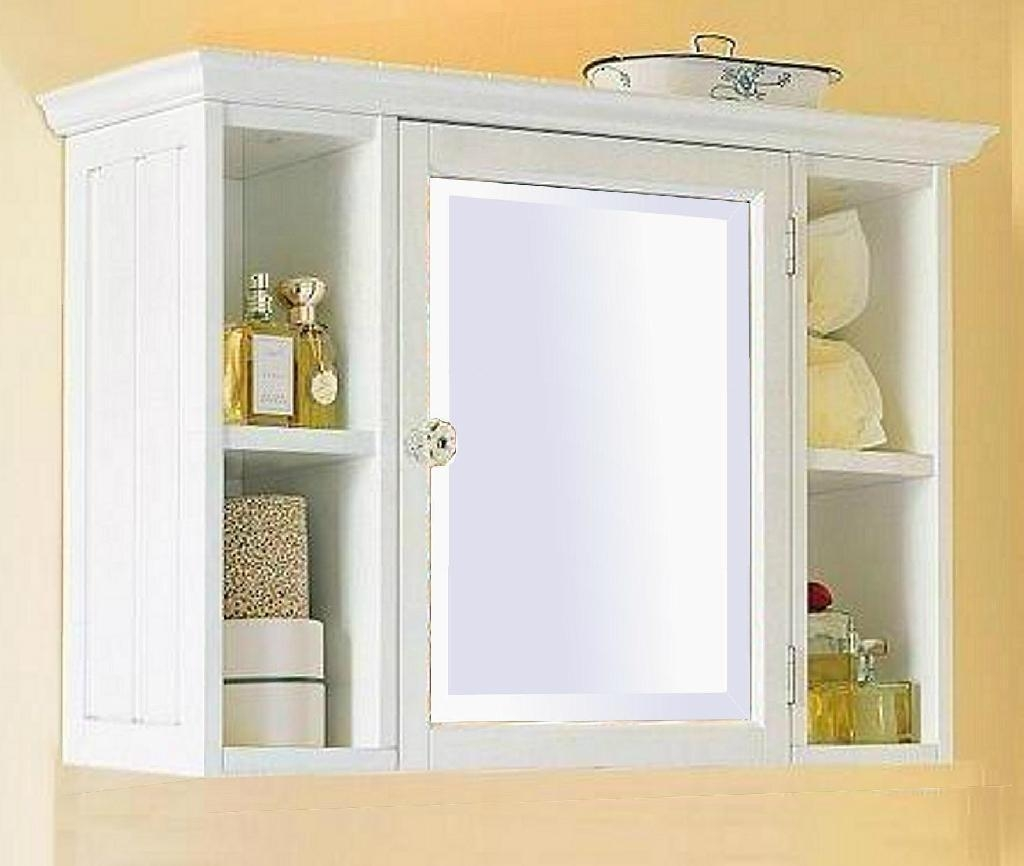 White Bathroom Medicine Cabinet With Mirror And Ideas : Bathroom Throughout Bathroom Medicine Cabinets With Mirrors (Image 20 of 20)