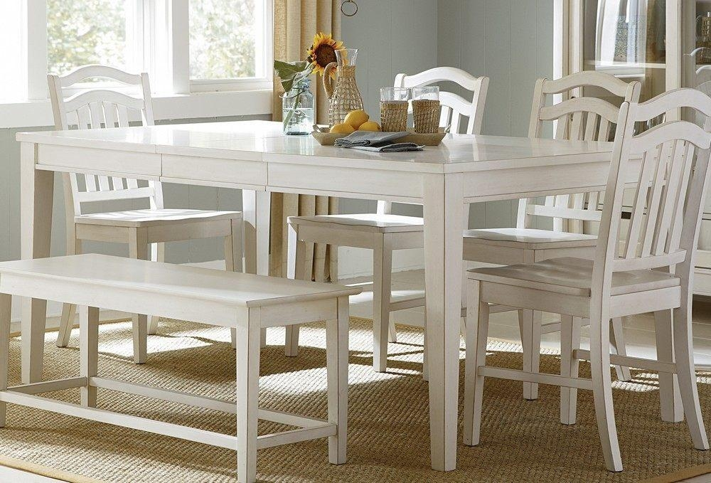 White Dining Room Sets Table White Dining Table And Chairs Home For Most Current White Dining Tables Sets (Image 15 of 20)