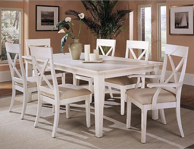 White Dining Tables Best White Dining Table Set Amazing Ideas Pertaining To White Dining Sets (Image 19 of 20)