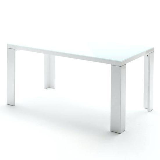 White Gloss And Glass Dining Table – Mitventures (View 14 of 20)