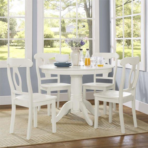 White Kitchen & Dining Room Sets You'll Love | Wayfair For White Dining Sets (View 17 of 20)