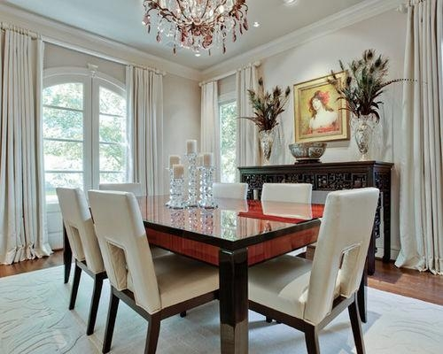 White Leather Dining Chairs | Houzz Throughout 2017 White Leather Dining Room Chairs (View 14 of 20)