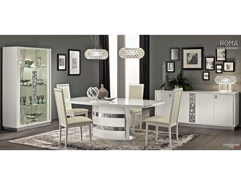 White Modern Italian Dining Table For Most Up To Date Italian Dining Tables (Image 20 of 20)