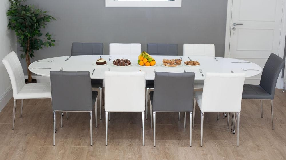 Featured Image of White Oval Extending Dining Tables