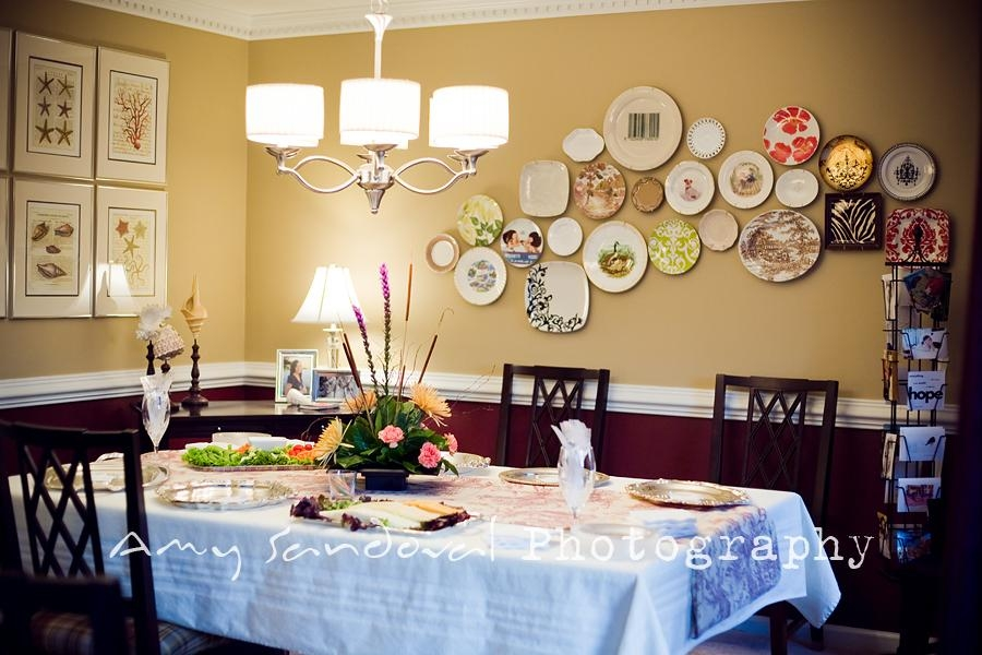 Wildly Creative Ways To Use Plates As Wall Decoration « Within Decorative Plates For Wall Art (Image 20 of 20)