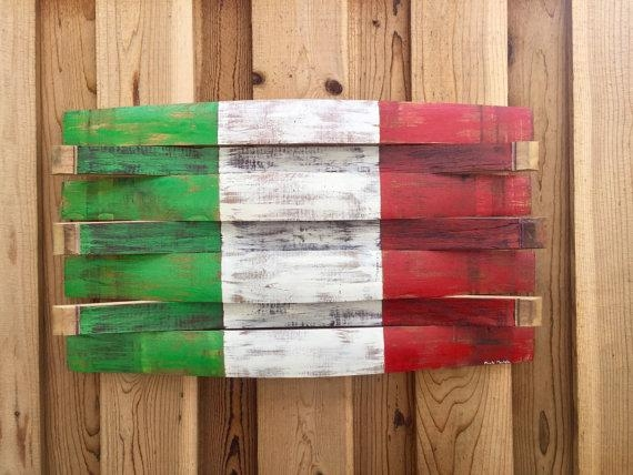 Featured Image of Italian Flag Wall Art