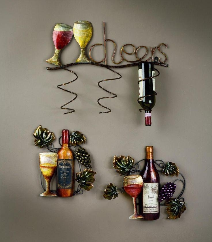 Wine Bottle Wall Make A Photo Gallery Wine Wall Decor – Home Decor In Wine Themed Wall Art (View 5 of 20)