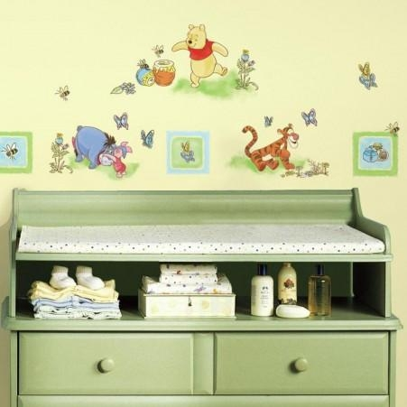 Winnie The Pooh Wall Decals | Roommates Inside Winnie The Pooh Wall Decor (Image 17 of 20)