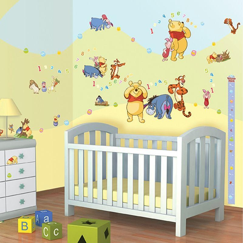 Winnie The Pooh Wall Decor Sticker Kit – 79 Piece Intended For Winnie The Pooh Wall Decor (Image 19 of 20)