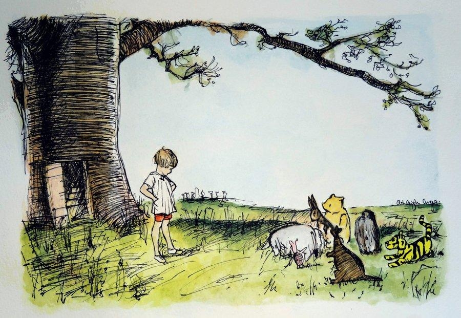 Winnie The Poohjust1Dreamer On Deviantart For Classic Pooh Art (View 8 of 20)