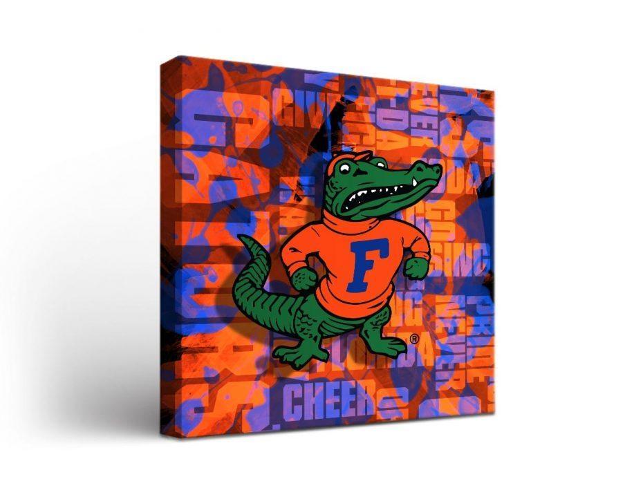 Winsome Design Decor Florida Gators Football Florida Gator Wall Intended For Florida Gator Wall Art (Image 20 of 20)
