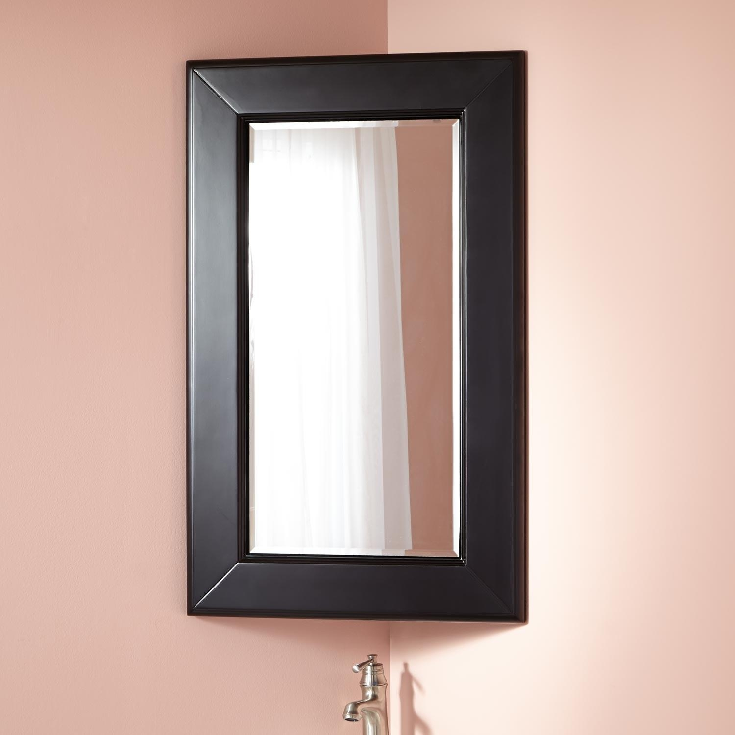 Winstead Corner Medicine Cabinet – Bathroom Pertaining To Corner Mirrors (Image 20 of 20)
