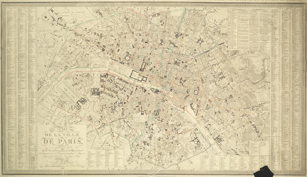 Wisteria Knock Off: Je T'aime Paris Wall Art | The Knock Off Crafter With Map Of Paris Wall Art (Image 20 of 20)