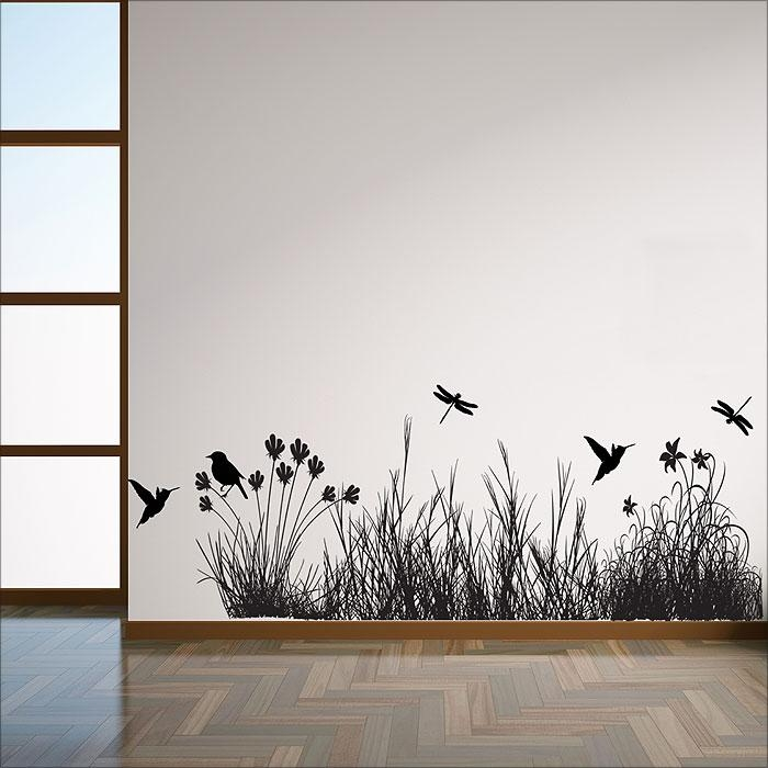 With Animals Vinyl Wall Art Decal With Regard To Tattoos Wall Art (Image 20 of 20)