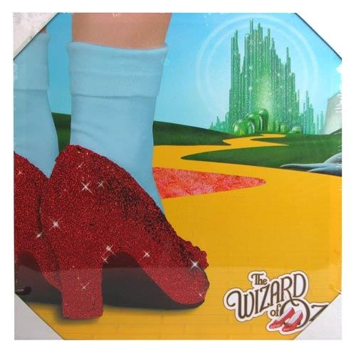 Wizard Of Oz Journey To Oz Glitter Large Canvas Print – Westland With Wizard Of Oz Wall Art (Image 16 of 20)