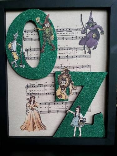 Wizard Of Oz Wall Art – Paper Crafts, Scrapbooking & Atcs (Artist For Wizard Of Oz Wall Art (Image 18 of 20)