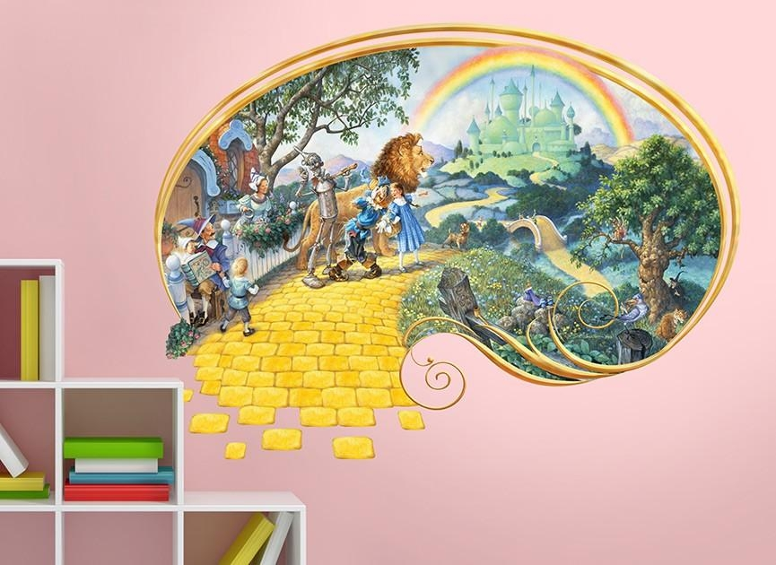 Wizard Of Oz Wall Decal Inside Wizard Of Oz Wall Art (Image 19 of 20)