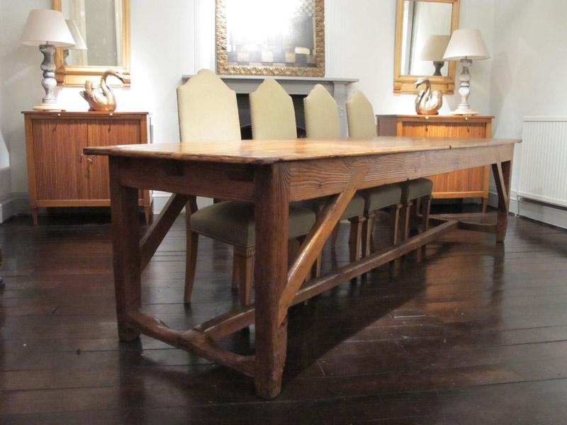 Wonderful 19Th Century French Farmhouse Dining Table – Dining Tables Regarding Most Popular French Farmhouse Dining Tables (Image 20 of 20)