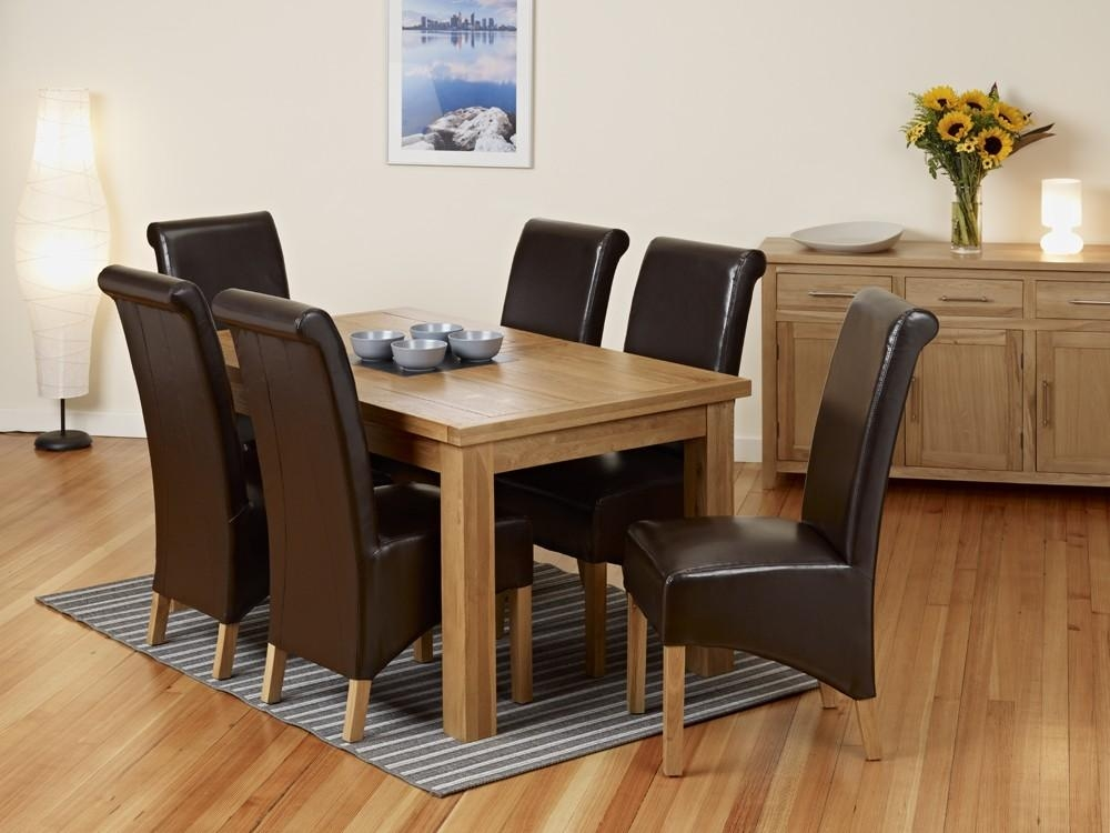 20 Collection Of Extending Dining Tables With 6 Chairs