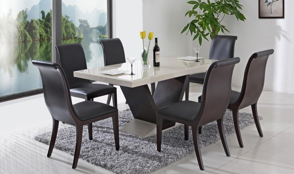 Wonderful Decoration Granite Dining Table Set Attractive Intended For Most Current Dining Tables Sets (View 2 of 20)