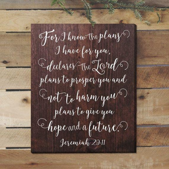 Wonderful Decoration Jeremiah 29 11 Wall Art Vibrant Design With Jeremiah 29 11 Wall Art (Image 20 of 20)