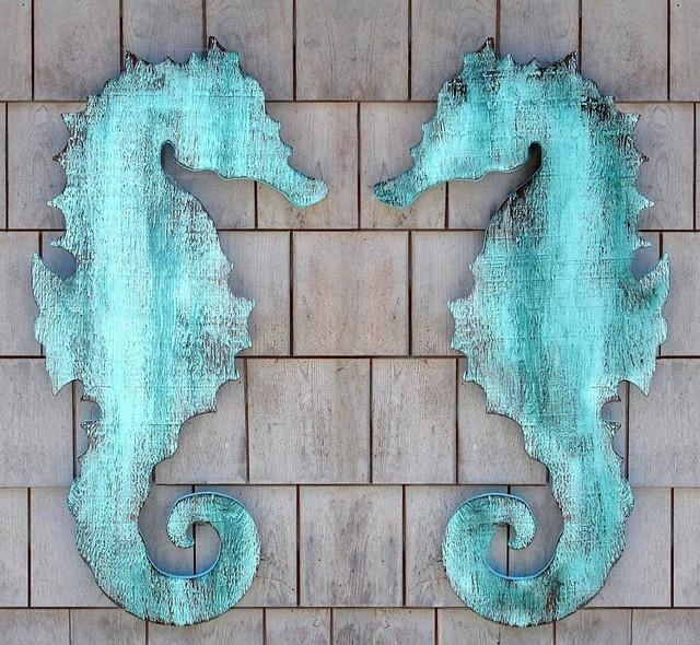 Wonderful Decoration Seahorse Wall Art Bold Inspiration Decor With Regard To Sea Horse Wall Art (Image 20 of 20)