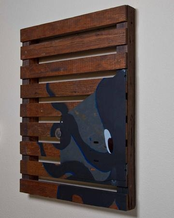 Wood And Wire Designs | Wall Art | Recycled Wood Slat Board And Within Wood And Iron Wall Art (Image 18 of 20)