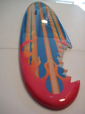 Wood Decorative Surfboard Wall Art Beach Decor Intended For Surf Board Wall Art (View 16 of 20)