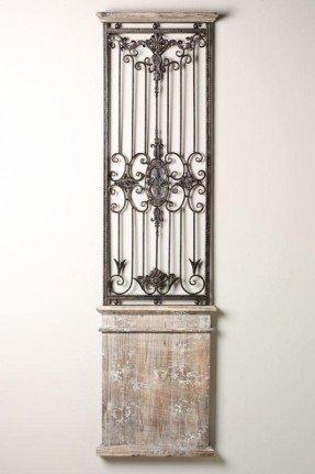 wood metal wall decor u2013 foter within wood and iron wall art image 19 of