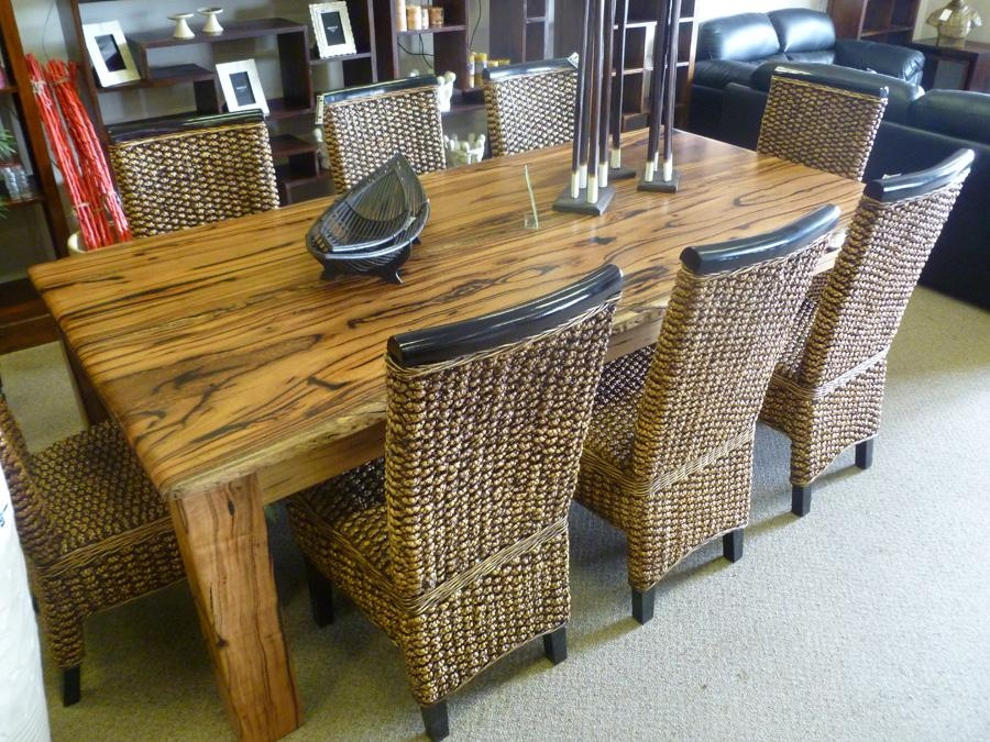 Wood Slab Dining Table Roma In Most Recently Released Perth Dining Tables (Image 20 of 20)