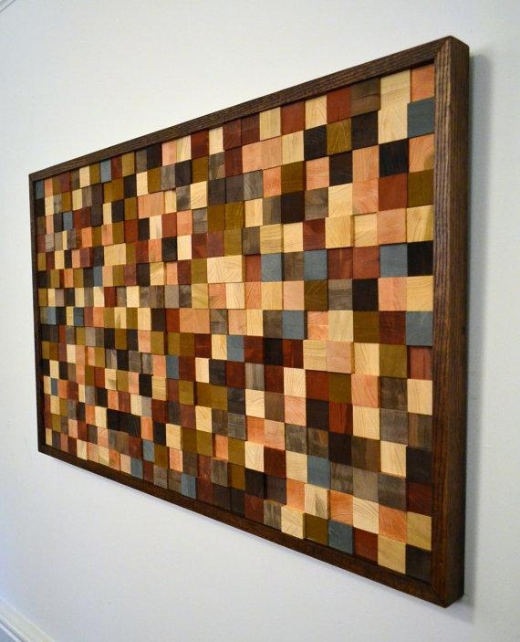 Wood Wall Decor A Random Pattern Wood Wall For Talking Dead Wood Wall Art (View 12 of 20)