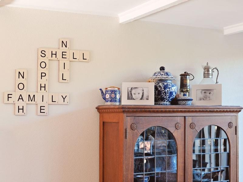 Wood Wall Letter Tiles – Large Letter Tiles | Craftcuts In Scrabble Letter Wall Art (View 18 of 20)