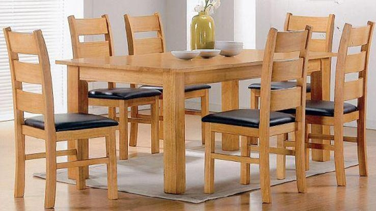 Wooden Dining Tables And Chairs – Insurserviceonline Intended For 2018 Wood Dining Tables (Image 20 of 20)