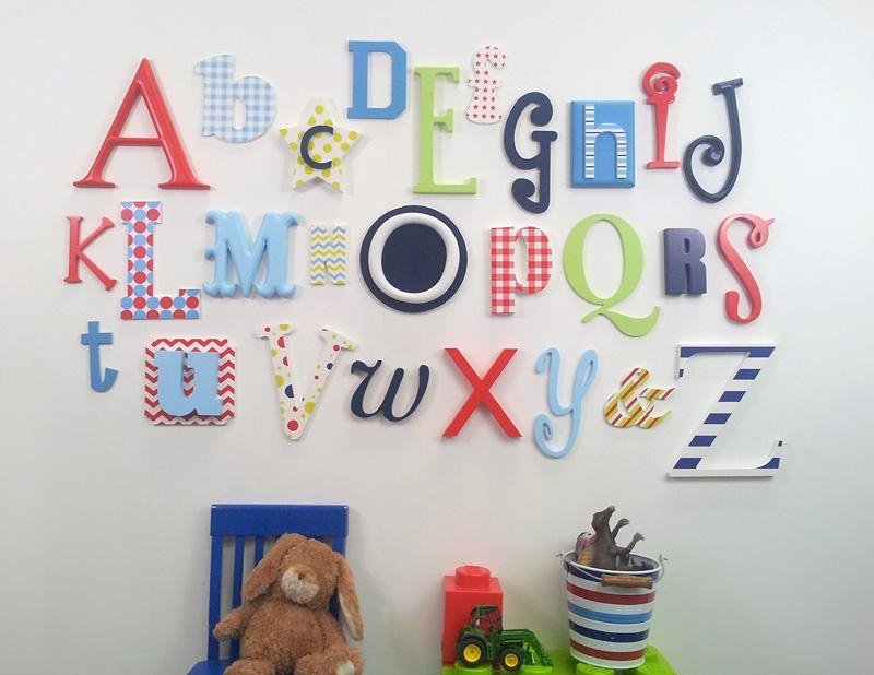 Wooden Letters Company Blog Throughout Wall Art Letters Uk (View 8 of 20)