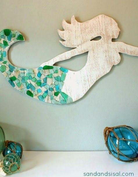 Wooden Mermaid Wall Art #4303 With Regard To Mermaid Wood Wall Art (View 2 of 20)