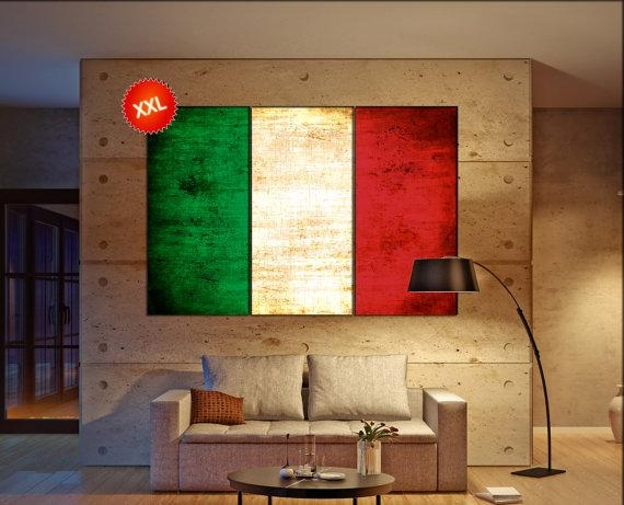 World Flags – Canvasconquest With Regard To Italian Flag Wall Art (Image 20 of 20)